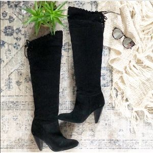 Sexy Slouchy Over the Knee Boots